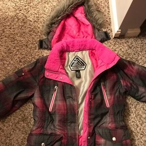 ZeroXposur Girl's Pink Winter Coat